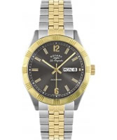 Buy Rotary Mens Les Originales Two Tone Watch online