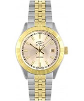 Buy Rotary Ladies Les Originales Champagne Dial Two Tone Bracelet Watch online