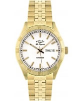 Buy Rotary Mens Les Originales Gold Plated Watch online