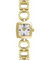 Buy Rotary Ladies Timepieces Stones Champagne Dial Gold Plated Watch online