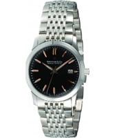 Buy Dreyfuss and Co Mens Black Steel Watch online
