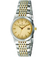 Buy Dreyfuss and Co Mens Champagne Steel Gold Watch online