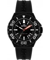 Buy Rotary Mens Aquaspeed Black Rubber Watch online