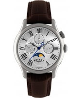 Buy Rotary Mens Chronograph Moonphase Watch online