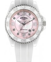 Buy Rotary Ceramique White Pink Watch online
