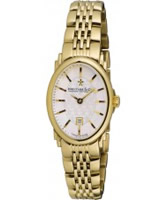 Buy Dreyfuss and Co Ladies Gold Watch online