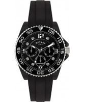 Buy Rotary Ceramique Black Multifunction Watch online