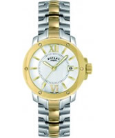 Buy Rotary Mens Timepieces Two Tone Steel Watch online
