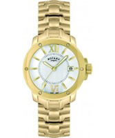 Buy Rotary Mens Timepieces Gold Tone Steel Watch online