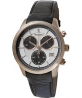 Buy Dreyfuss and Co Mens Rose Gold Chronograph Watch online