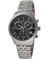 Buy Dreyfuss and Co Mens Silver Chronograph Watch online