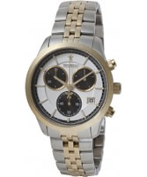 Buy Dreyfuss and Co Mens Two Tone Chronograph Watch online