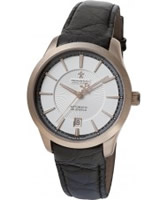 Buy Dreyfuss and Co Mens Gold Black Watch online