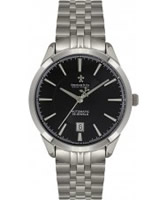 Buy Dreyfuss and Co Ladies Silver Black Watch online