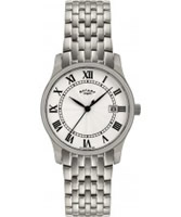 Buy Rotary Mens Silver Tone  Watch online