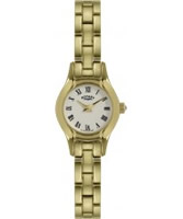 Buy Rotary Ladies Gold Plated Cocktail Watch online