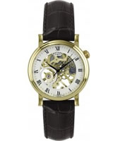 Buy Rotary Mens Mechanical Gold Watch online