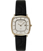 Buy Rotary Mens Ultra Slim Rose Gold Watch online