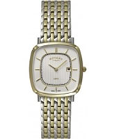 Buy Rotary Mens Ultra Slim Two Tone Watch online