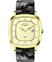Buy Rotary Mens Ultra Slim Gold Plated Watch online