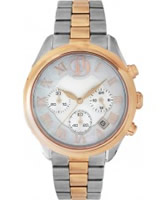 Buy Project D Ladies Chronograph Two Tone Watch online