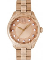 Buy Project D Ladies Rose Gold Bracelet Watch online