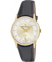 Buy Dreyfuss and Co Mens Gold Brown Watch online
