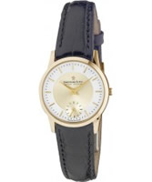 Buy Dreyfuss and Co Ladies Gold Brown Watch online