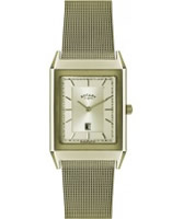 Buy Rotary Mens Classic Gold Plated Watch online