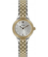 Buy Rotary Ladie Silver And Rose Gold Watch online