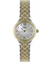 Buy Rotary Ladies Two Tone Bracelet Watch online