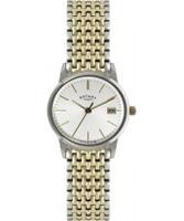 Buy Rotary Ladies Two Tone Steel Bracelet Watch online