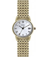 Buy Rotary Ladies Gold Steel Bracelet Watch online