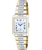 Buy Dreyfuss and Co Ladies Silver Gold Watch online