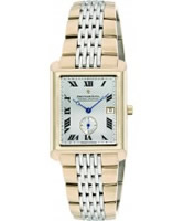 Buy Dreyfuss and Co Mens Silver Gold Watch online