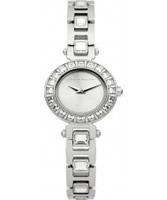 Buy Karen Millen Ladies Steel and Stone Set Bracelet Watch online