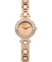 Buy Karen Millen Ladies Rose Gold and Stone Set Watch online