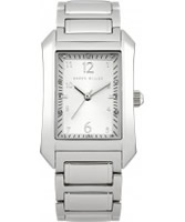 Buy Karen Millen Ladies Silver and White Steel Watch online