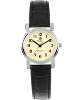 Buy Royal London Ladies Classic Black and Cream Watch online