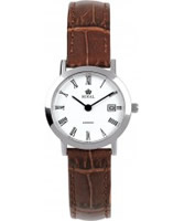 Buy Royal London Ladies Classic Brown Leather Watch online
