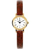 Buy Royal London Ladies Classic Slim Brown Watch online