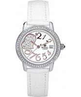 Buy Royal London Ladies White Crystal Heart Fashion Watch online