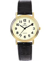 Buy Royal London Mens Classic Quartz Gold Watch online
