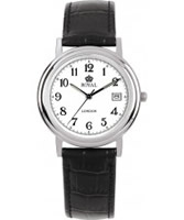 Buy Royal London Mens Classic Black and White Watch online
