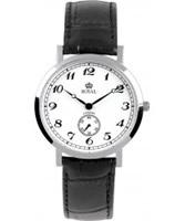 Buy Royal London Mens Classic Black Mock Croc Leather Watch online