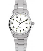 Buy Royal London Mens Classic Silver White Watch online