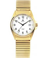 Buy Royal London Mens Classic Gold White Watch online