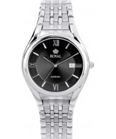 Buy Royal London Mens Classic Silver Black Watch online