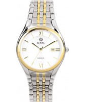 Buy Royal London Mens Classic Two Tone Steel Watch online