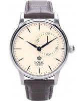 Buy Royal London Mens Classic Quartz Brown Watch online